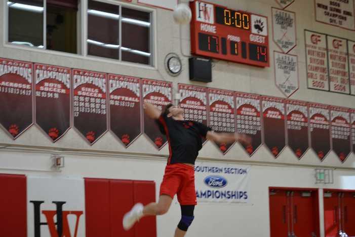 Boys' volleyball drops Westlake match