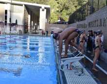 Boys' and Girls' swim teams defeat Alemany