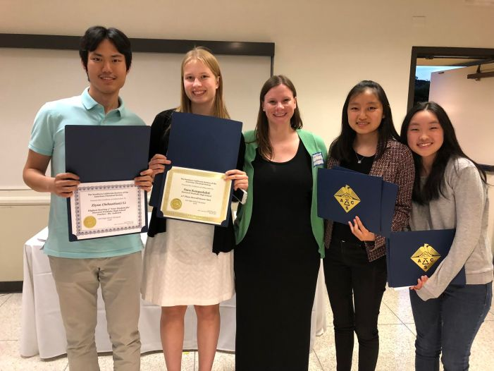 Students place at Chemistry Olympiad
