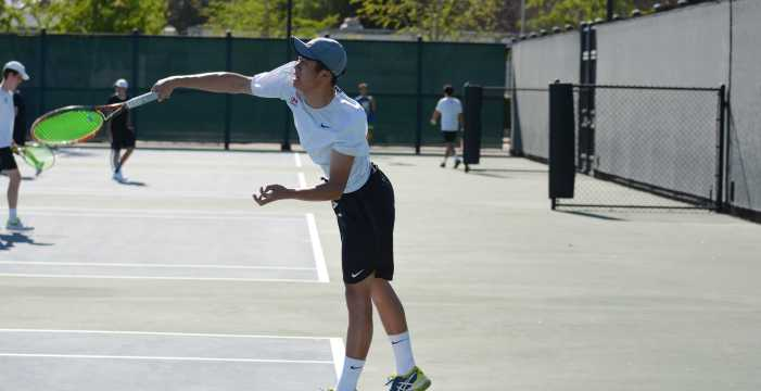 Boys tennis team wins second consecutive CIF-SS title
