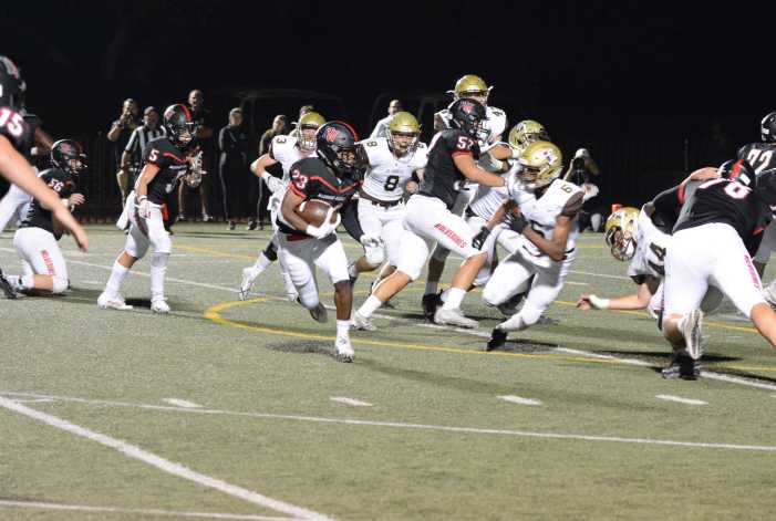 Football falls to St. Francis