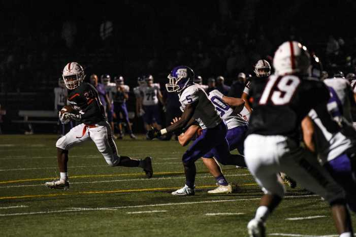 Football beats St. Anthony in first league game