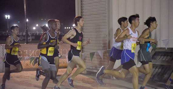 Runners compete in three invitationals