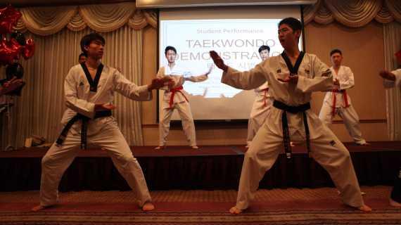 KAPA performs K-pop dances