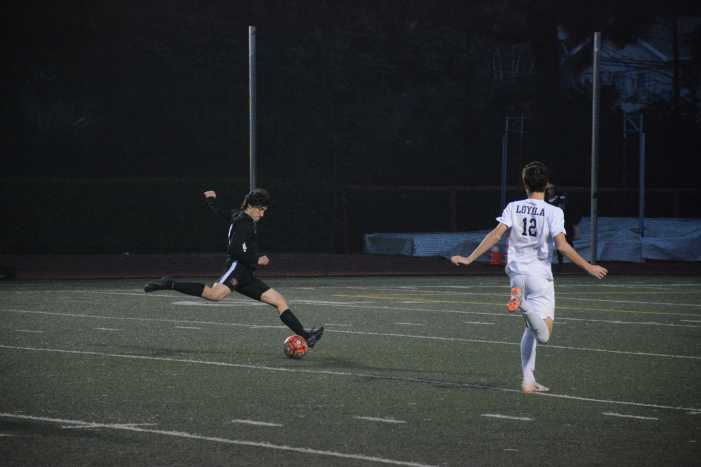 Boys' Soccer falls to Loyola