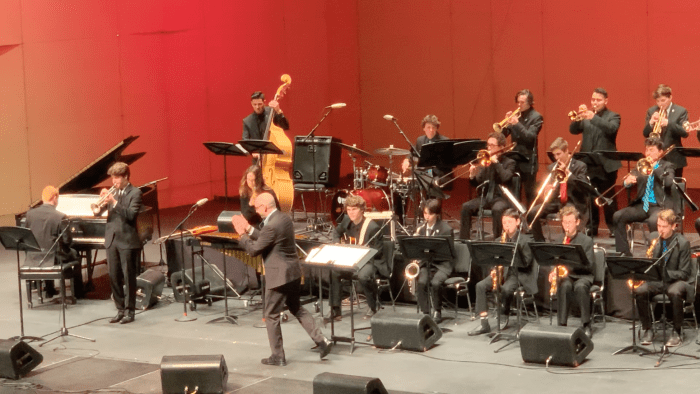 Ryan Wixen'19 performs in honor bands