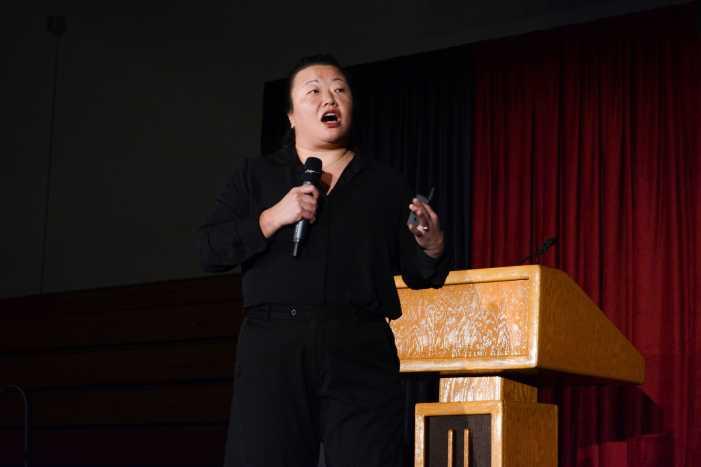 Speaker discusses methods to address microaggressions