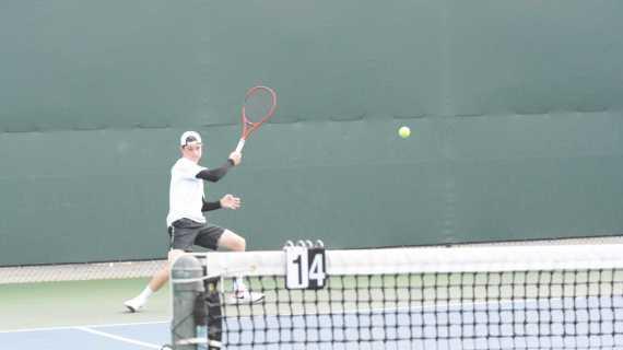 Boys' tennis undefeated at League Prelims