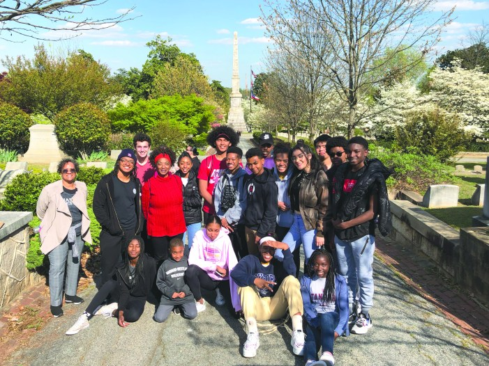 Students participate in first civil rights tour