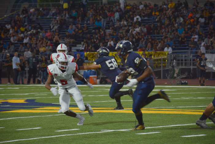 Football beats Venice High School in first home game