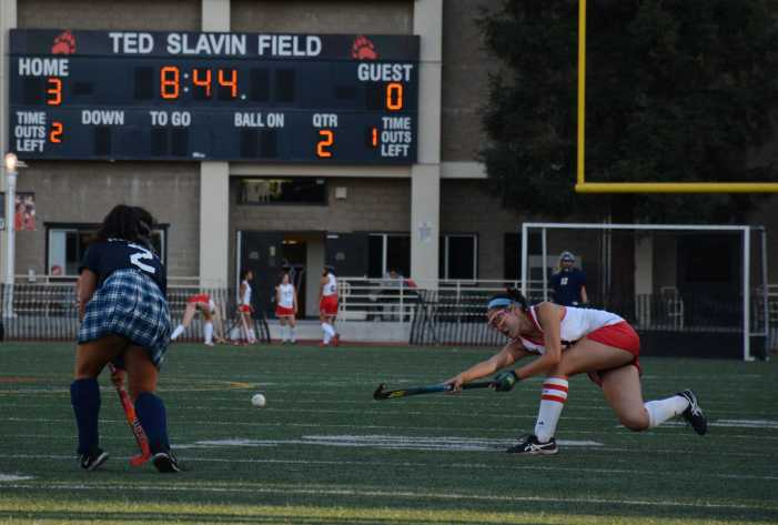 Field hockey beats Newport Harbor in first home game
