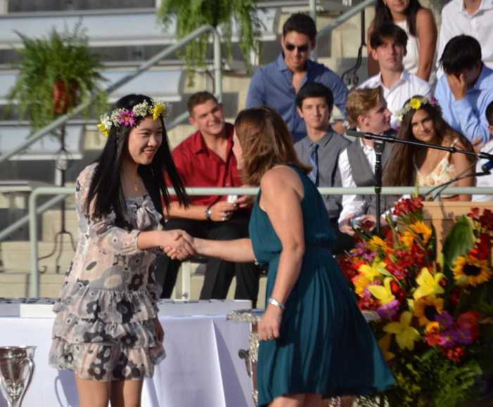 Seniors attend Ring Ceremony