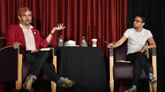 Non-binary activists discuss gender identity