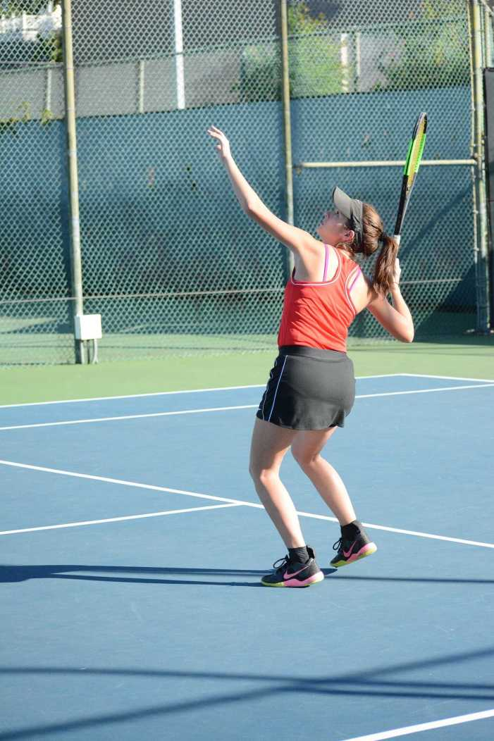 Girls Tennis loses to Woodbridge High School to end season.