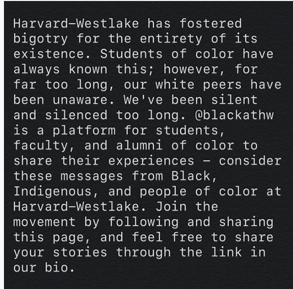 Alumni start 'blackathw' Instagram account