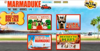 Marmaduke Interactive Games