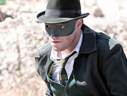 Seth Rogen as The Green Hornet (Columbia Pictures)