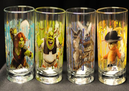 Shrek Glasses (McDonald's)