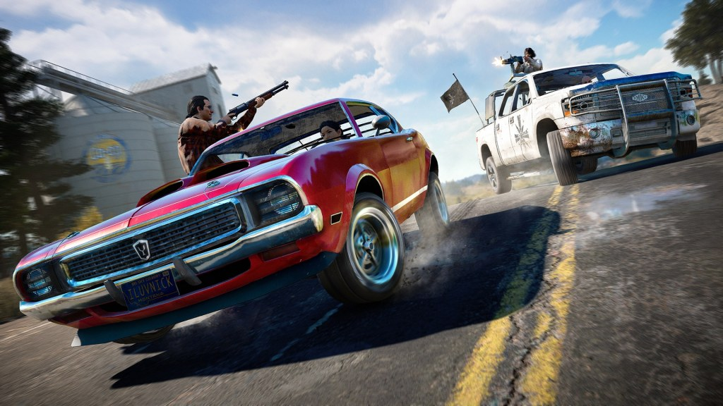 Farcry 5 car chase