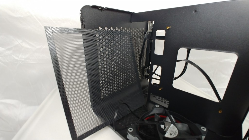 dust filter for front of case