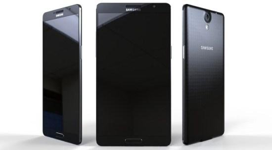 Galaxy Note 4 konsept çalışma