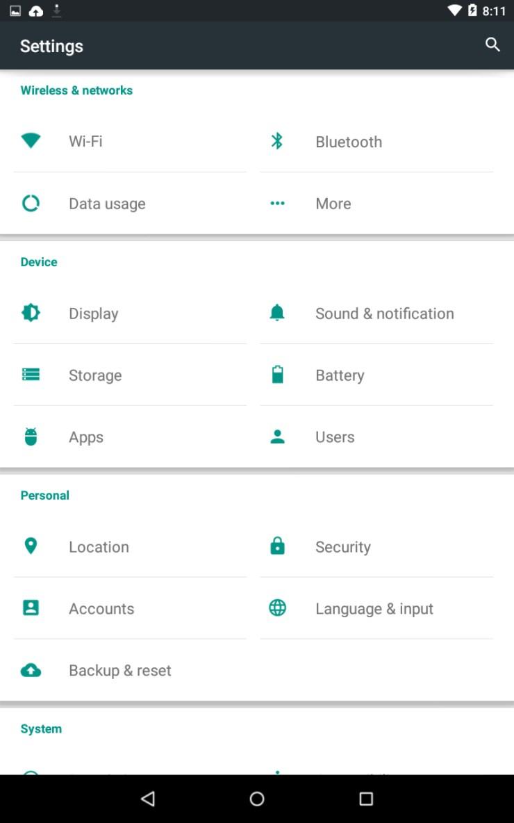 Nexus 7 - Android Lollipop