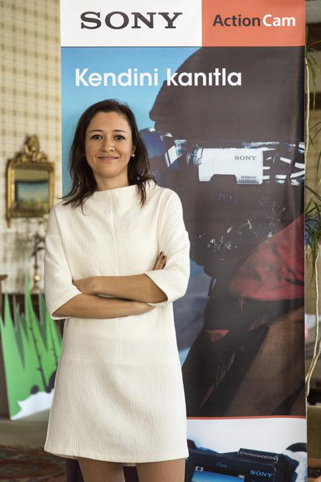 Sony Kamera Grubu Ürün Müdürü Aylin Alpay 1
