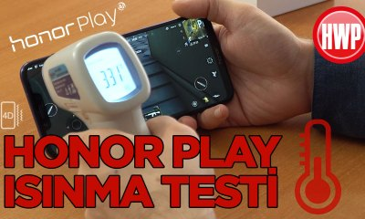 Honor Play Isınma Testi