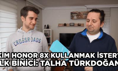 Honor 8X ilk binicisine kavuştu! - Talha Türkdoğan