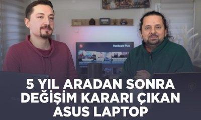 5 yıl sonra değişim kararı çıkan Asus laptop (THH kararı ile)