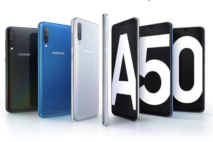 Galaxy S8 vs Galaxy A50