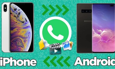 Android ve iPhone arasında WhatsApp transferi! | iSkysoft Toolbox
