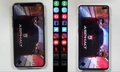 Hız Testi   iPhone XS vs Samsung Galaxy S10+
