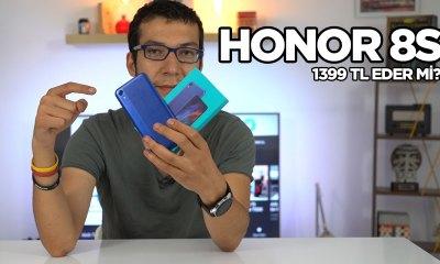Honor 8S incelemesi | 1399 TL'ye alınır mı?