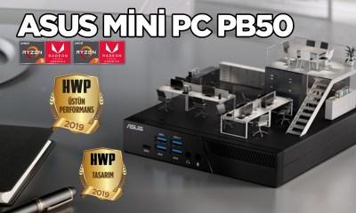 ASUS Mini PC PB50 incelemesi: Ryzen kullanan minik canavar!