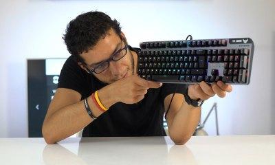 TUF Gaming K7 oyuncu klavyesi | Mekanik değil, optik mekanik!