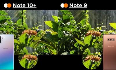 Samsung Galaxy Note 10+ vs. Samsung Galaxy Note 9 kamera karşılaştırma