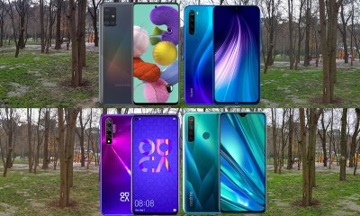 Samsung Galaxy A51, Realme 5 Pro, Redmi Note 8, Nova 5T video kıyaslama