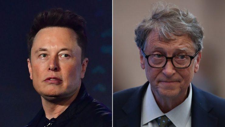 Elon Musk'tan Bill Gates'e tepki