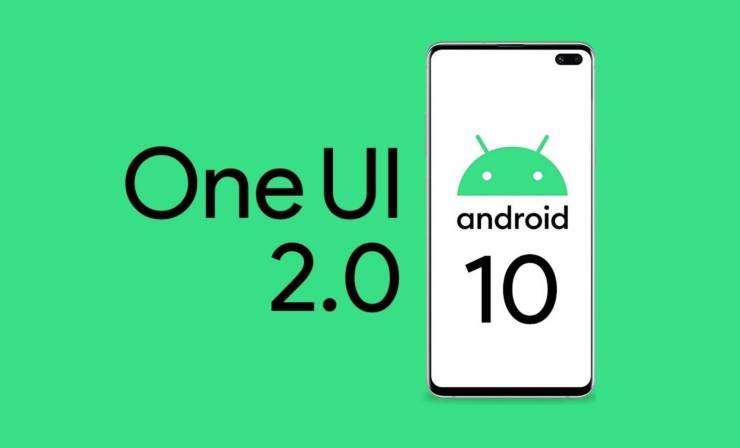 android 10 samsung one UI 2.0