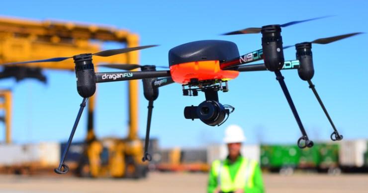Dronelar Covid-19 Draganfly