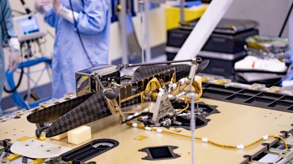 NASA, Mars helikopterinin yapımını tamamladı