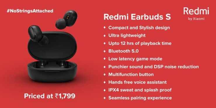 Redmi Earbuds S iii