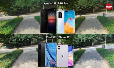 Sony Xperia 1 II, Huawei P40 Pro, OPPO Find X2 ve iPhone 11 video kıyaslama