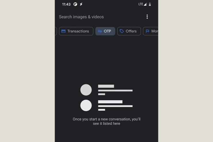 Google Mesajlar uygulaması