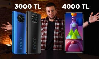 3000 - 4000 TL arası en iyi telefonlar