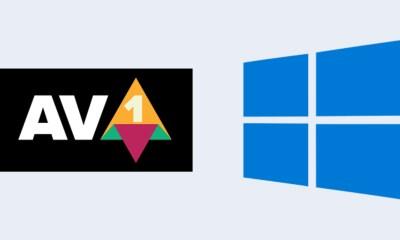 Windows 10 AV1 codec