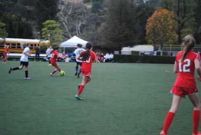 The Middle School team consists of both a red and black team. Credit: Casey Kim '20/SPECTRUM