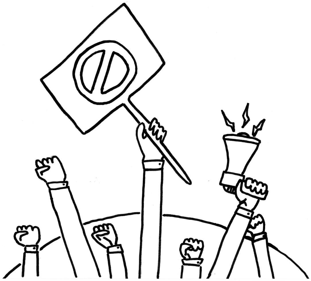 Protests Comic AWU