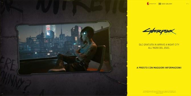 cyberpunk 2077 dlc gratuito